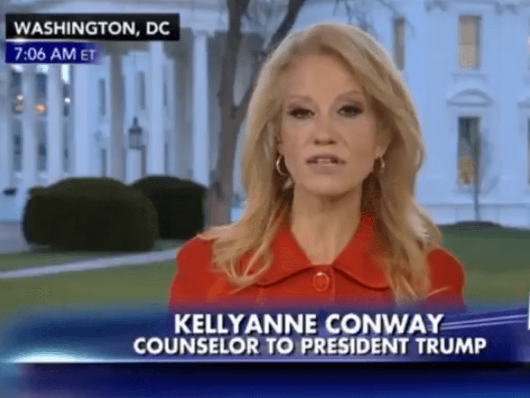 Kellyanne Conway attacks democrats