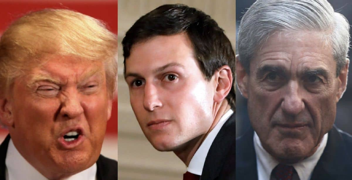 Image result for Jared Kushner and Mueller Investigation of Trump
