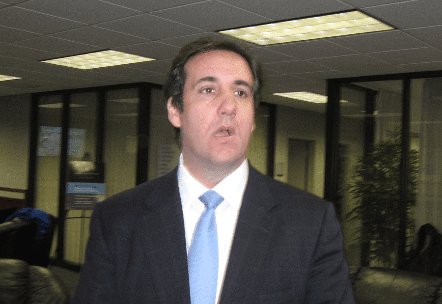 Michael Cohen for Donald Trump may have suppressed another story