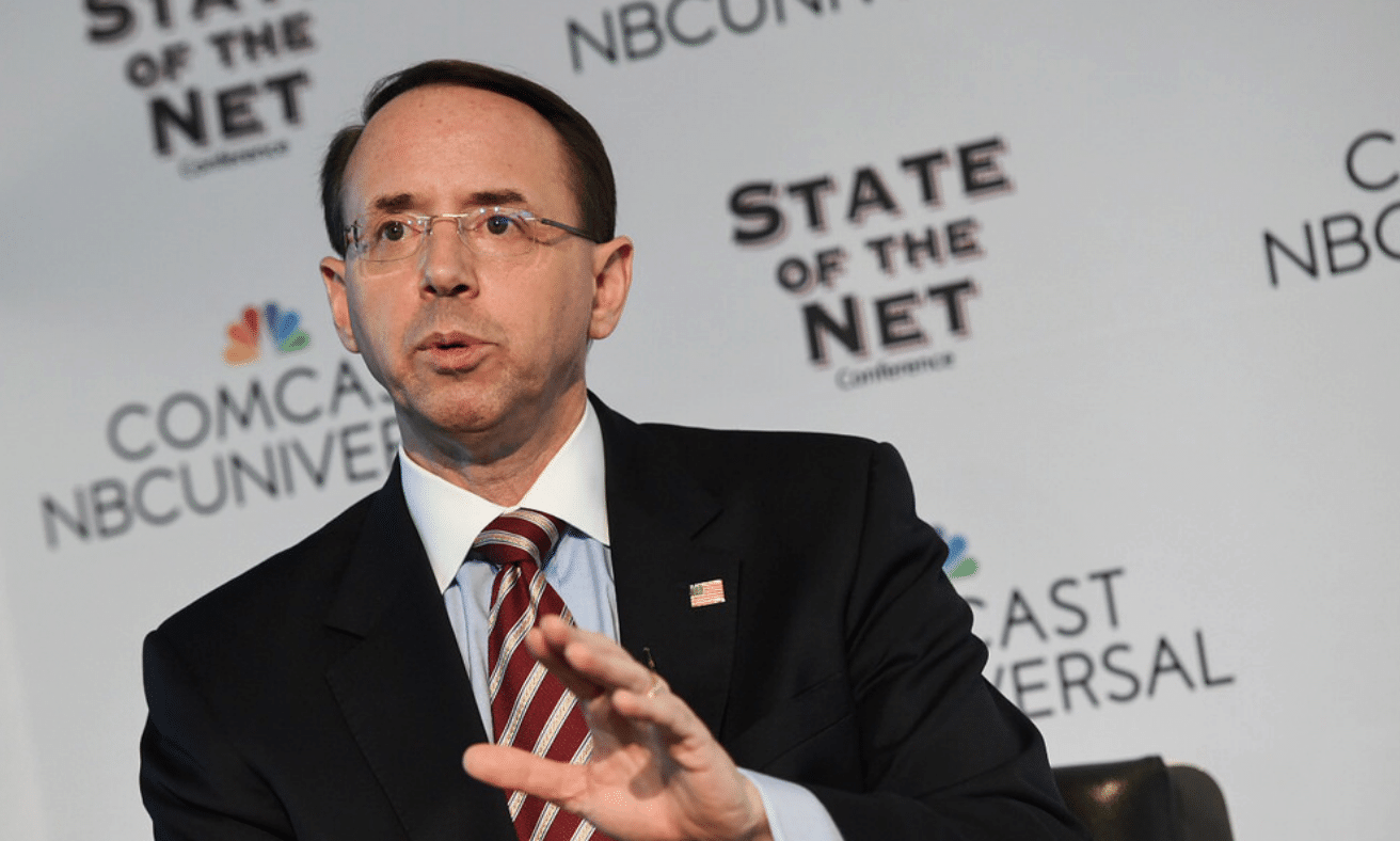 Trump Accuses Rod Rosenstein Of 'Coup Attempt'
