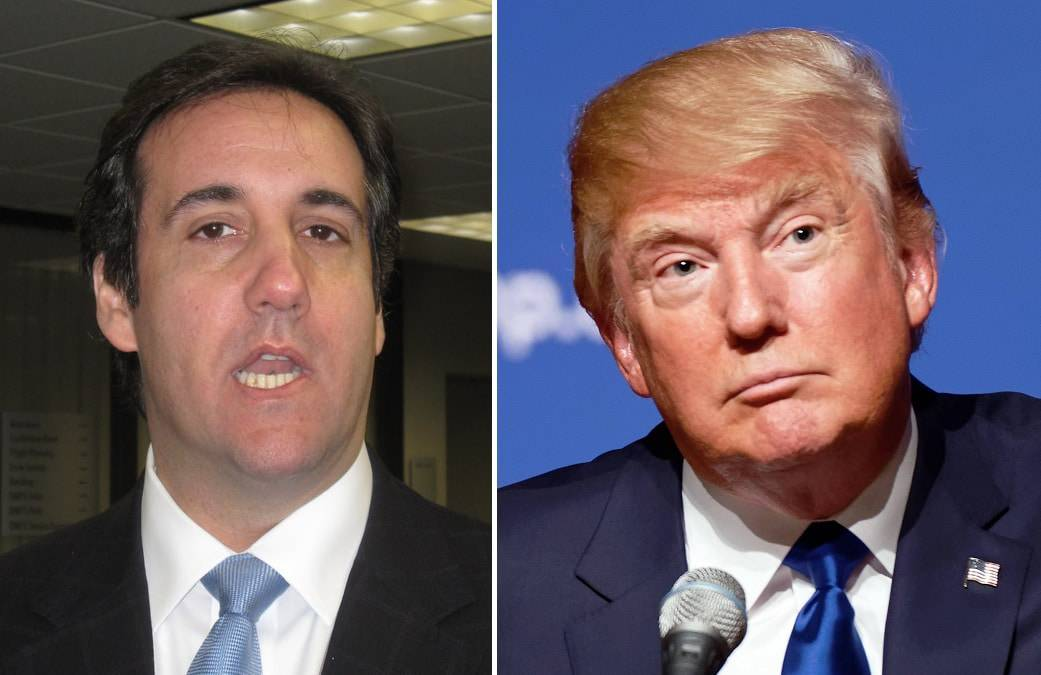 Michael Cohen and Donald Trump Together