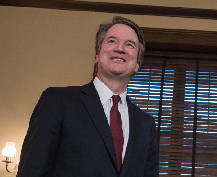 Brett Kavanaugh's victim has evidence