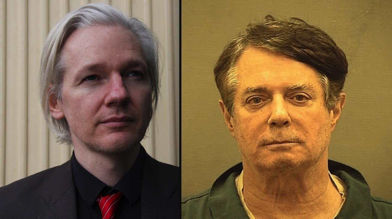 Manafort reportedly visited WikiLeaks' Assange in lead-up to election