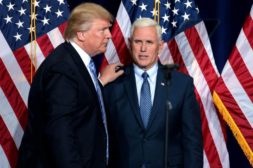 Trump, Pence Dismiss NYT Report That Trump Questions Pence's Loyalty