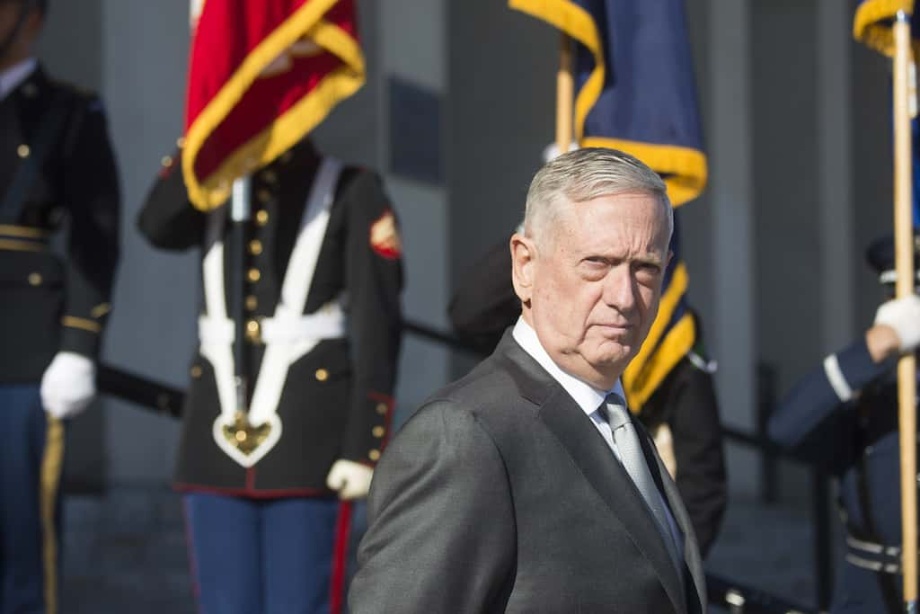 Mattis Delivers Final Message To Military: 'Keep The Faith In Our Country'