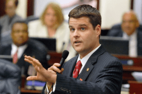 Matt Gaetz Appears Outnumbered