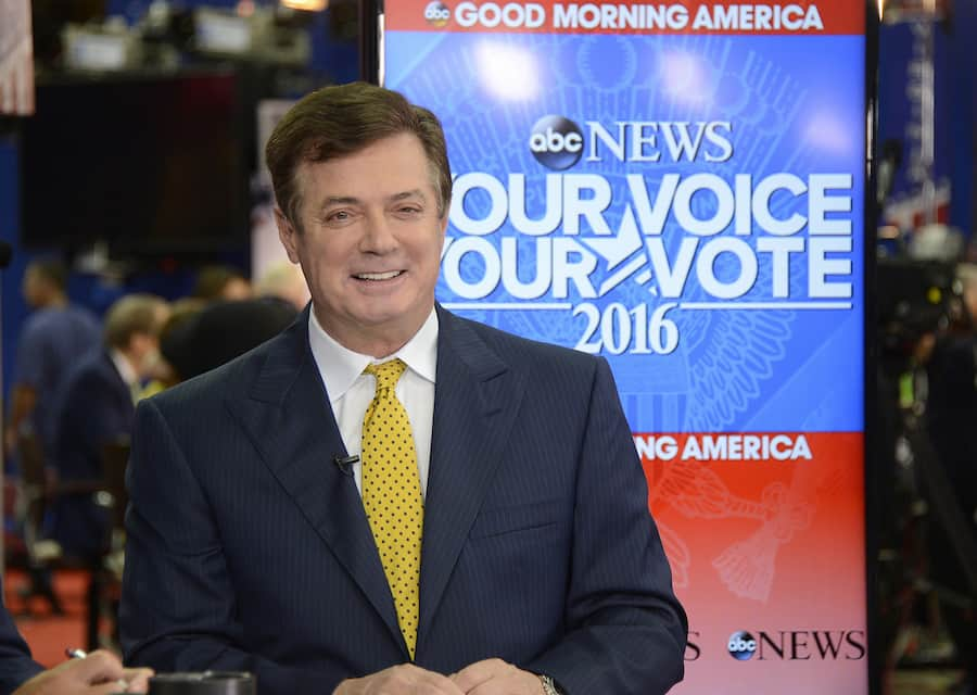 Paul Manafort Allegedly Lied About Giving Polling Data to the Russians