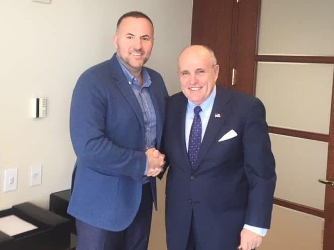 Pavel Fuks and Rudy Guiliani