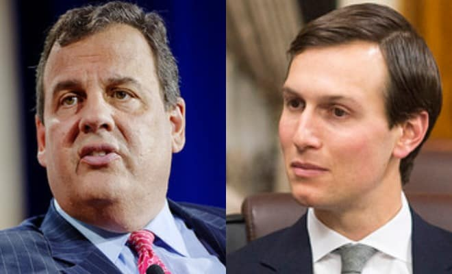 Chris Christie Claims Jared Kushner Was Behind His Ouster From Trump Transition Team