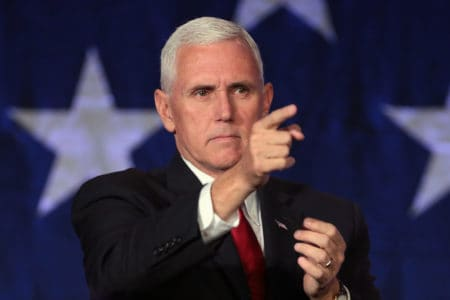 Mike Pence Compares Trump to Martin Luther King While Speaking on Border