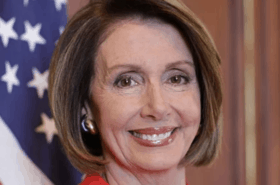 Speaker of the House Nancy Pelosi (D-California).