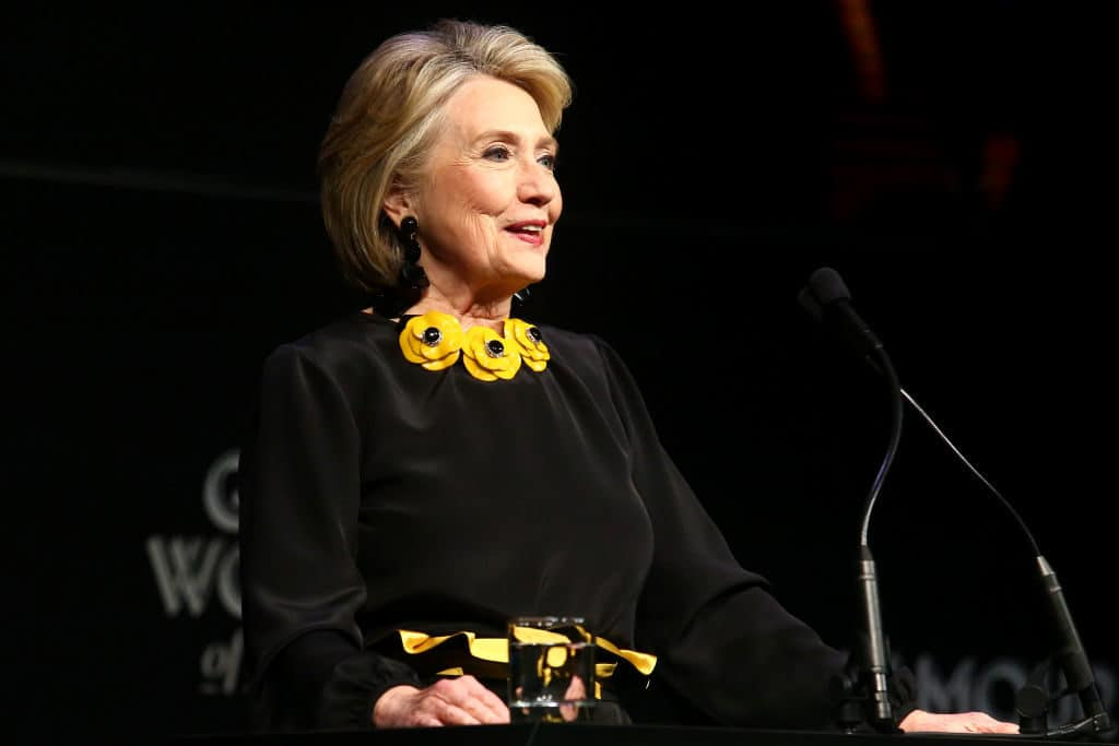 Hillary Clinton says she will not run for president in 2020