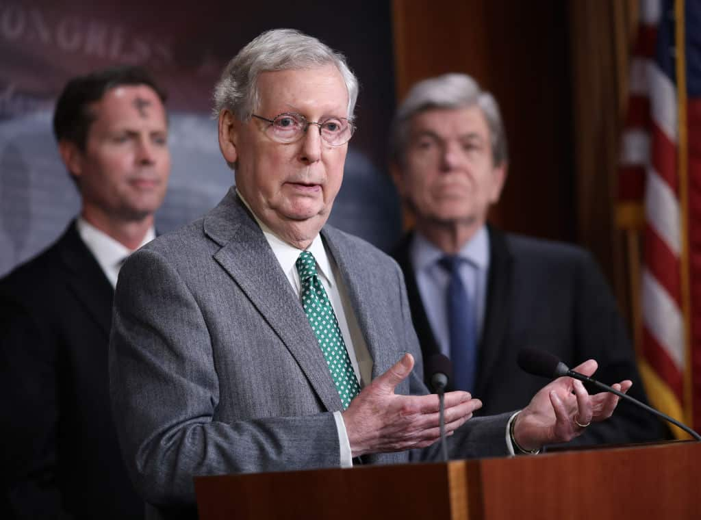 "Mitch McConnell Thinks Expanding Voting Rights Is ""Half-Baked Socialism"""