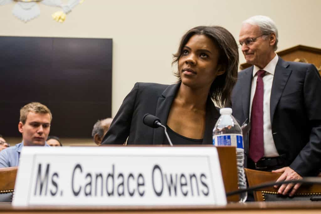 Candace Owens blasts Dem lawmaker in 'hate crimes' hearing