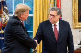 barr protects prisoners, sends the rest of america to doom