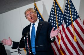 donald trump says the va is his enemy