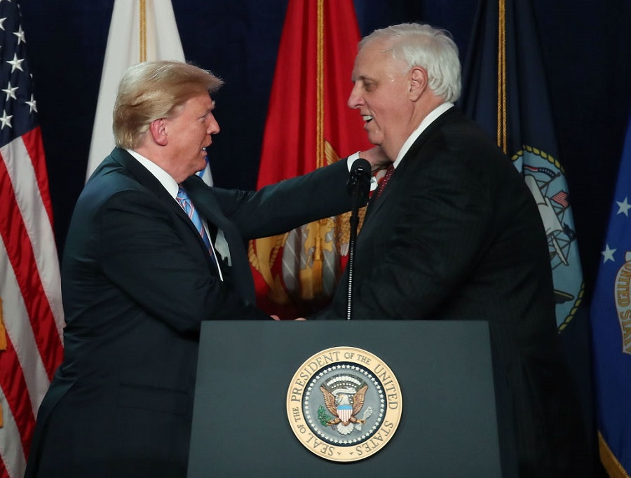 jim justice obama isn't welcome in wv