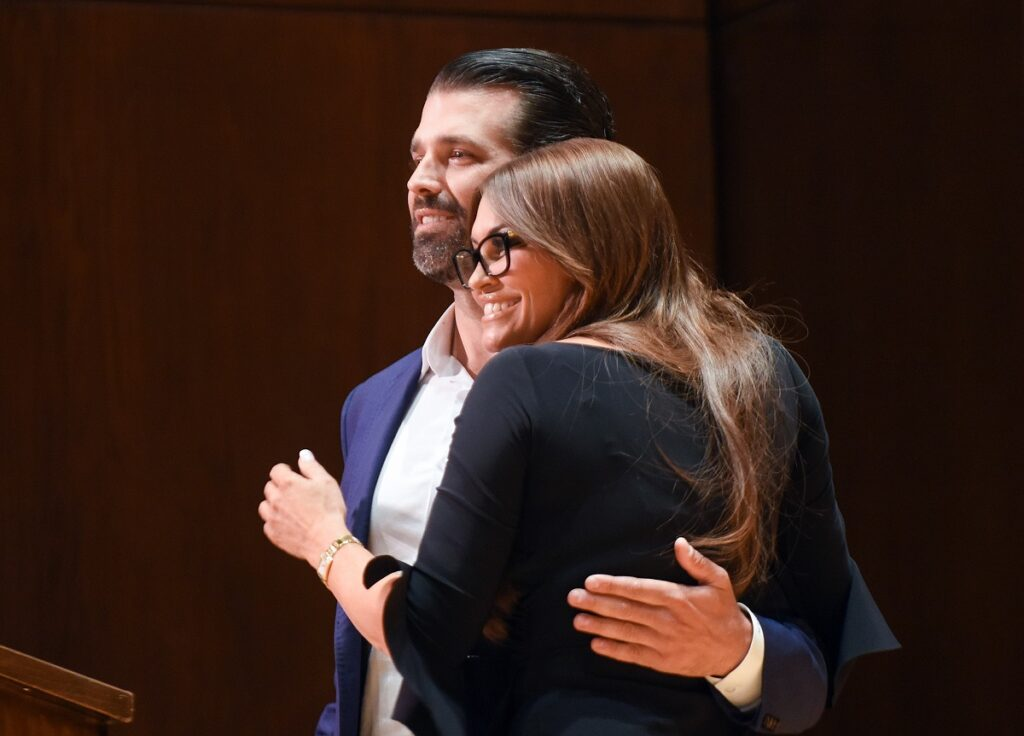 don jr doesn't understand he can't hang out with his sick wife
