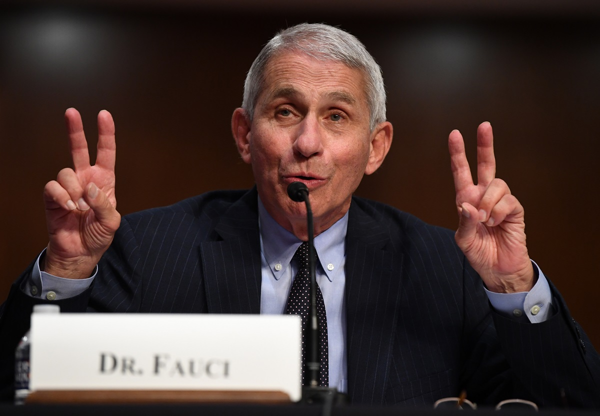 Dr. Fauci not winning