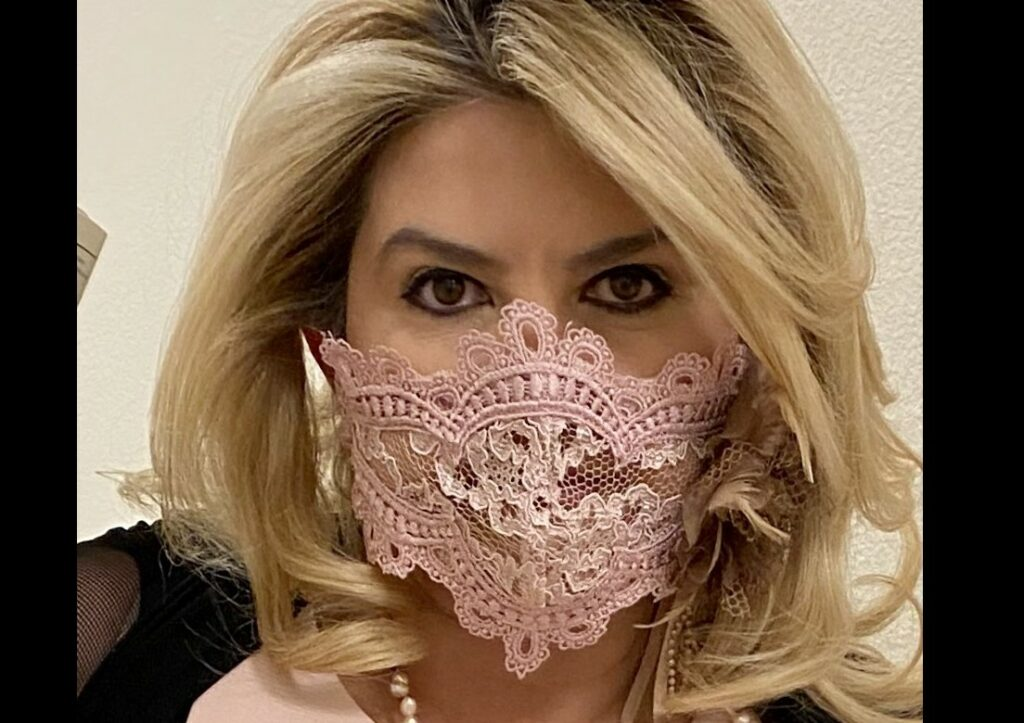 fiore wears panty mask n69