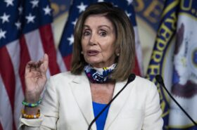Nancy Pelosi will Fumigate Donald Trump