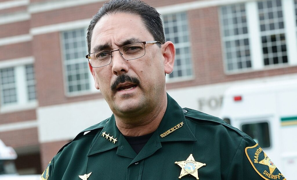 Florida sheriff Billy Woods is antimask