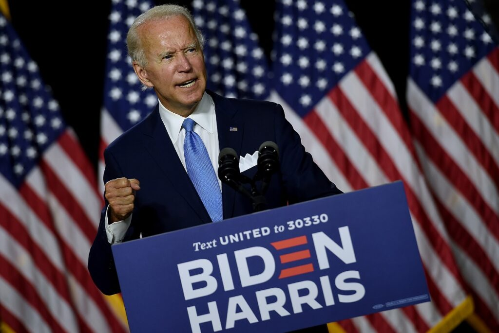 Joe Biden won't be on the ticket, says Judge Jeanine