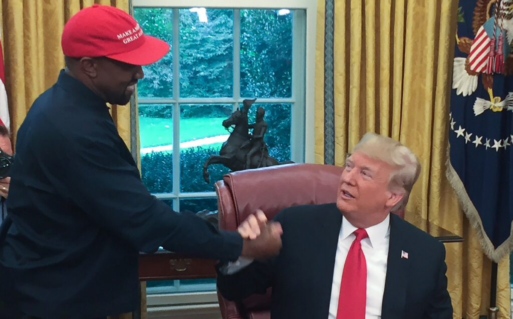 Kanye and Trump campaign finance violation