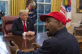 Kanye West spoiler for Donald Trump