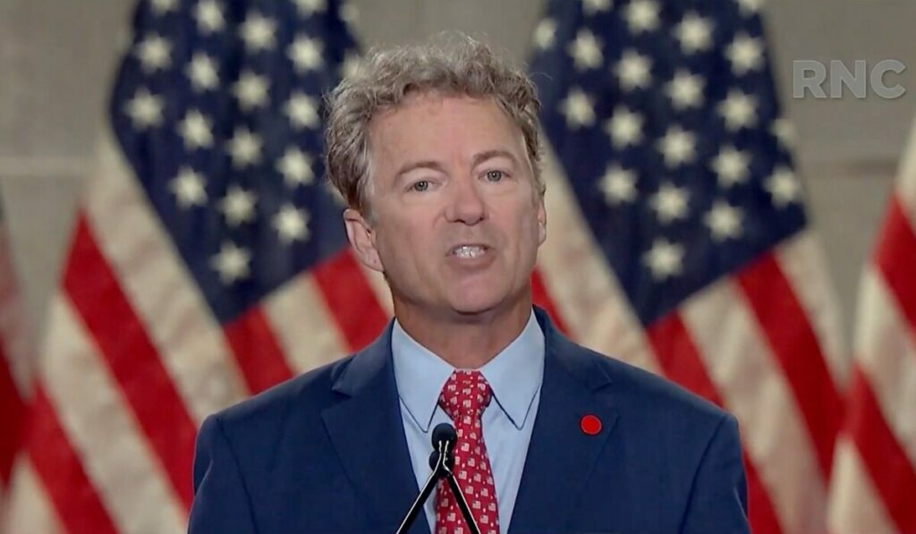 Rand Paul says he was attacks..