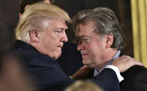 Trump ordered $400m to Steve Bannon wall