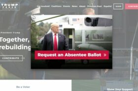 Donald Trump says to trust the USPS to deliver an absentee ballot