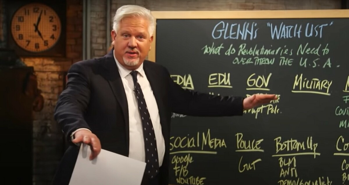 Glenn Beck predicts color revolution