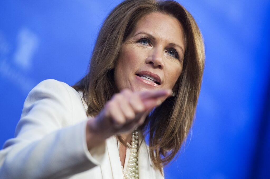 Michele Bachman says Bible predicts transgender Black marxists