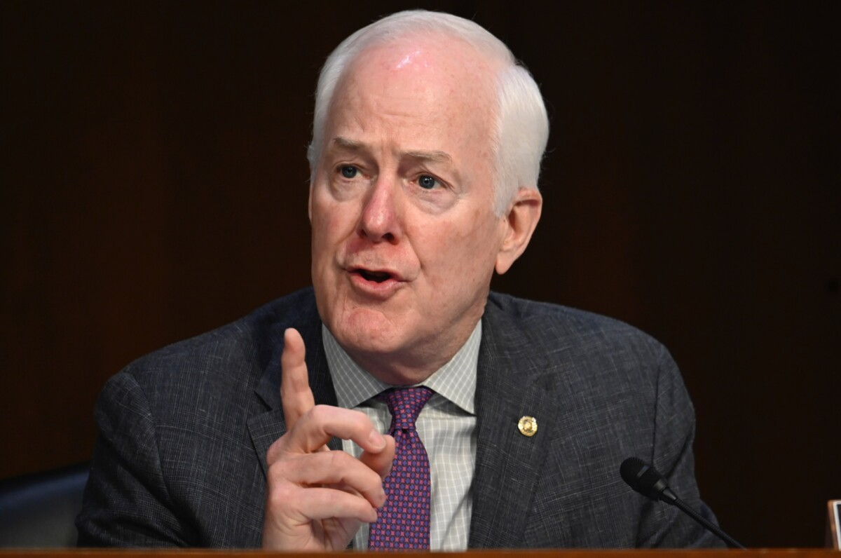 Senator Cornyn attempts to smear colleagues