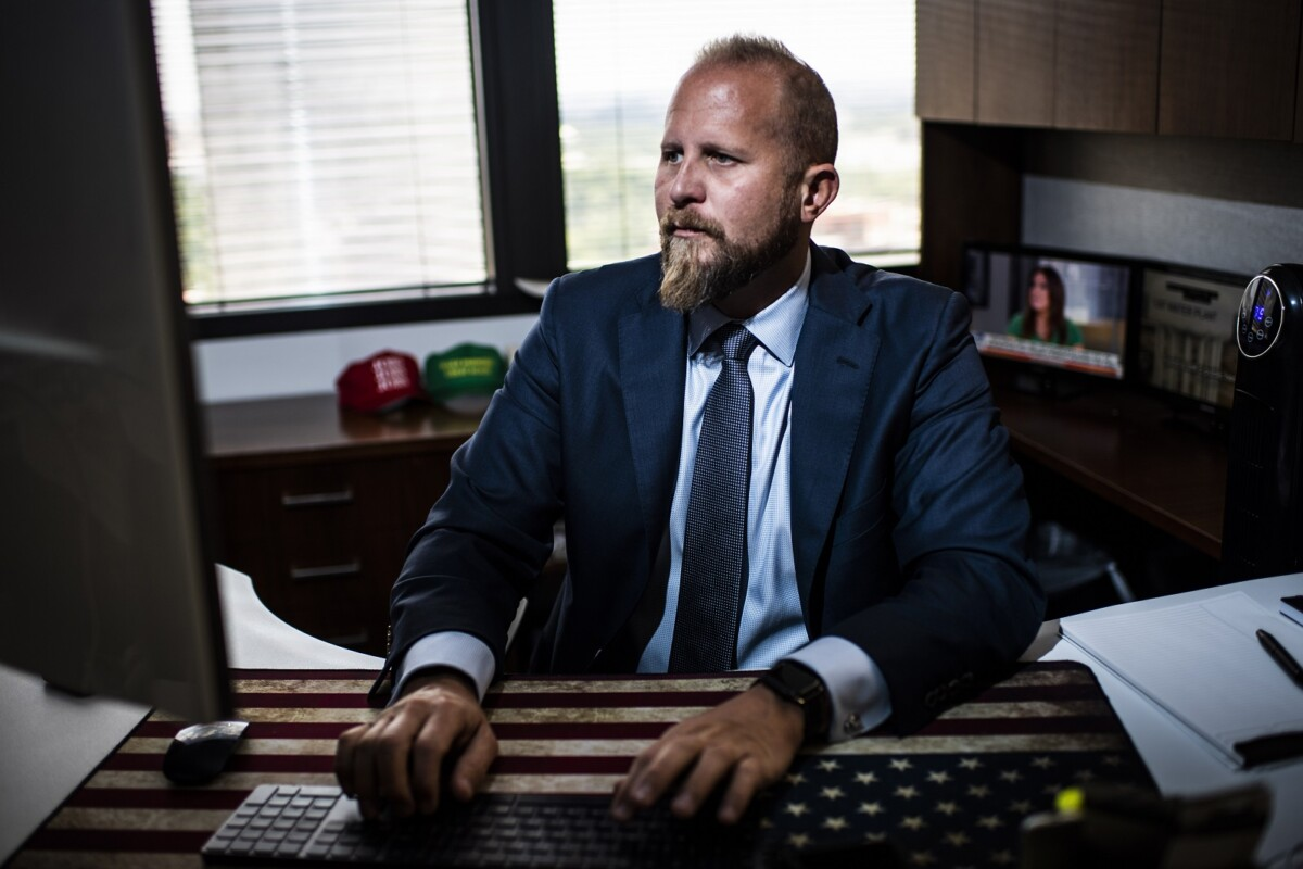 Brad Parscale writing book, Trump worried