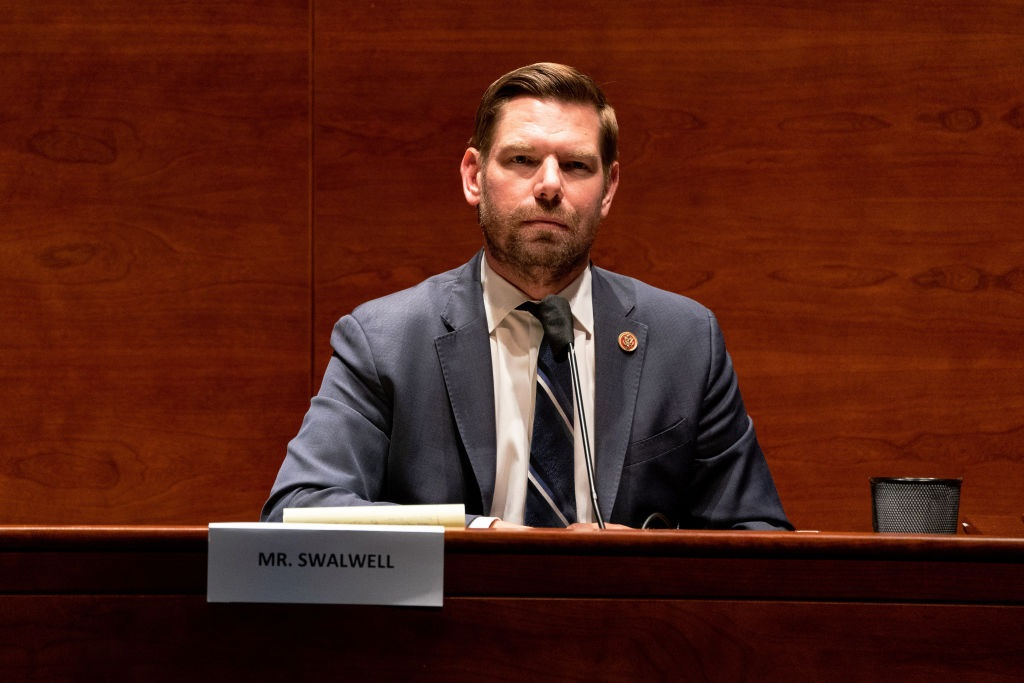 Eric Swalwell says Republicans are committing treason
