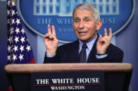 Donald Trump sad he can't tweet about Dr. Fauci