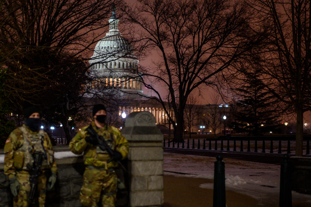 National Guard in DC, Q-Anon still a threat