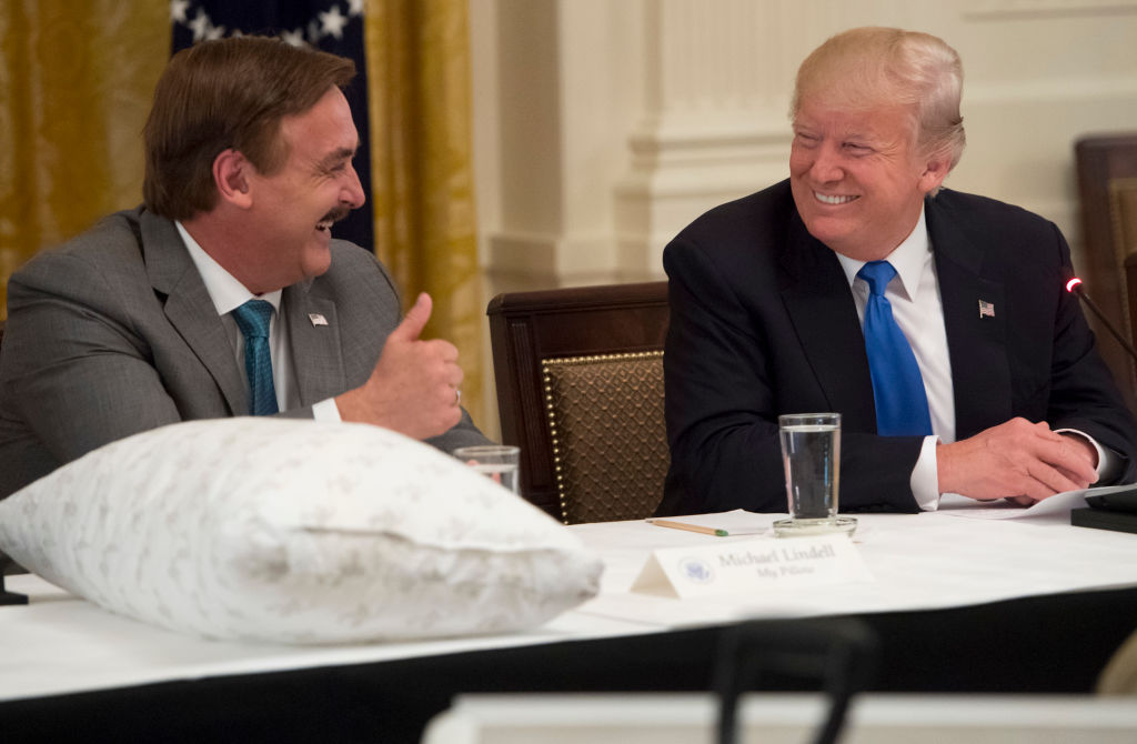 Mike Lindell is going to SCOTUS -- again